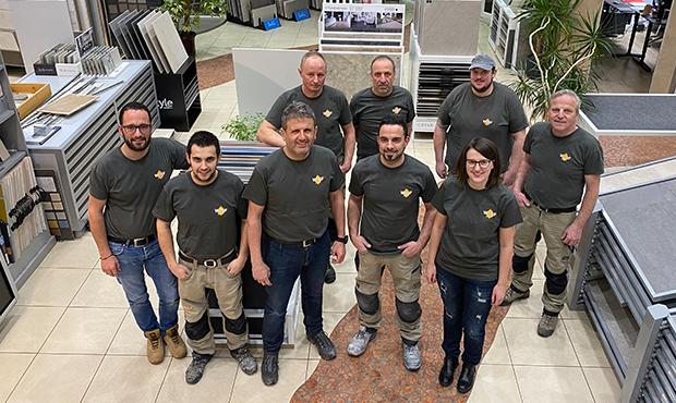 Team completo di Fliesen Wolf